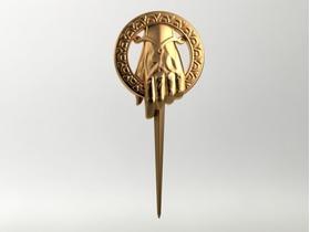 《权利的游戏》国王之手徽章